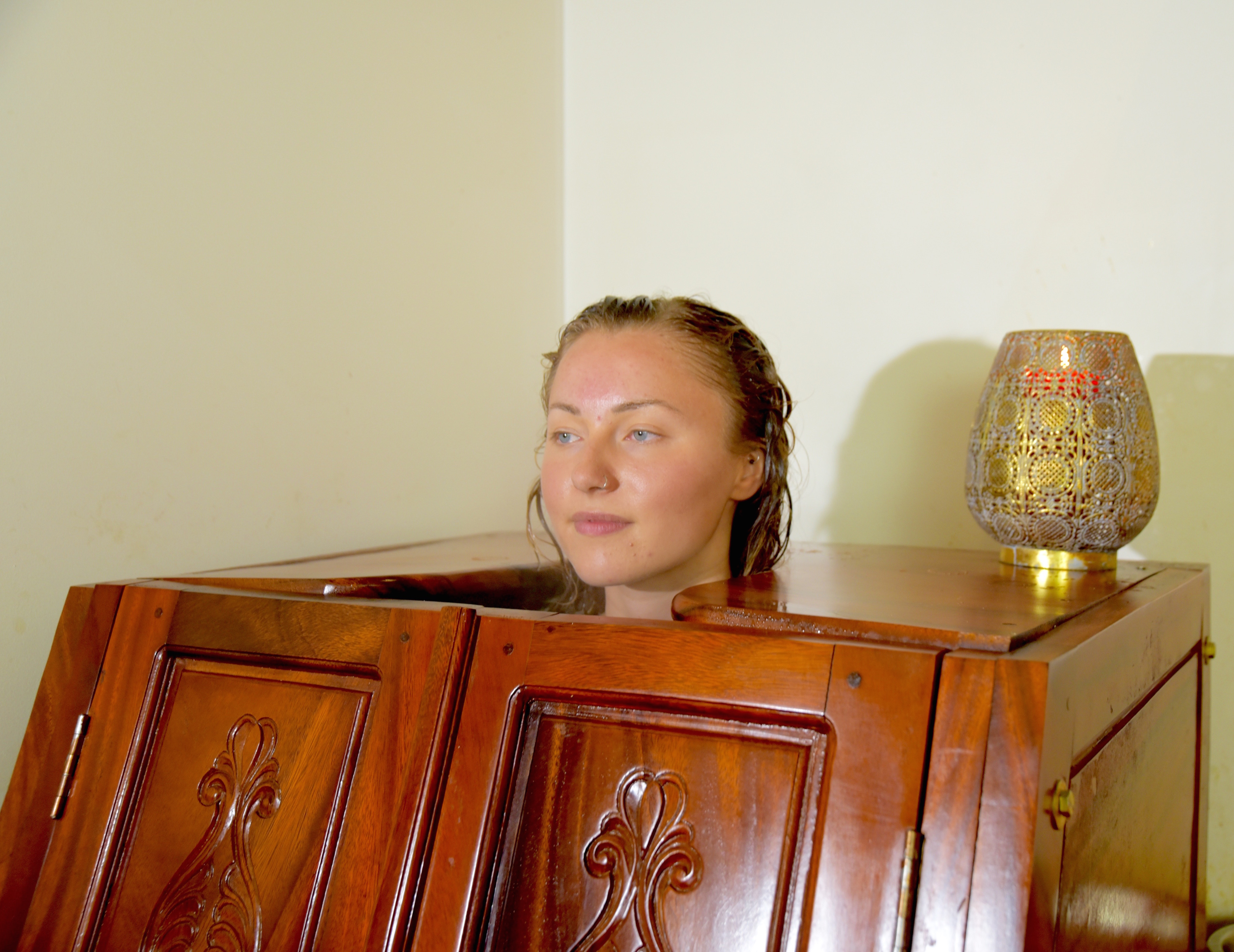 Herbal Steam Bath  - Sarvang Sweden Ayurveda Therapy