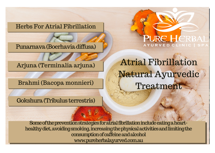 Ayurvedic Natural Treatment Atrial Fibrillation A-Fib