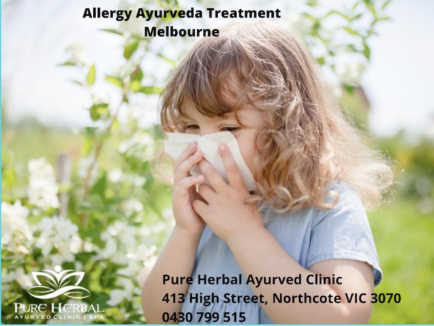 Allergy Ayurvedic Natural Medicine In Melbourne, Australia