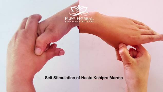 Hand Kshipra Marma Therapy Ayurveda Melbourne